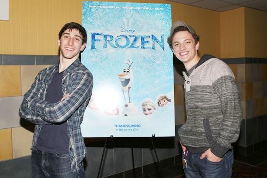 Frozen – Newsies Screening – Ben Fankhauser – Iain Young