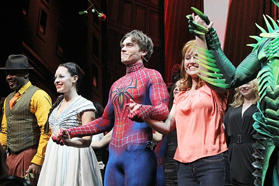 Spider-Man – Final Performance – Christina DeCicco – Justin Matthew Sargent – Rebecca Faulkenberry