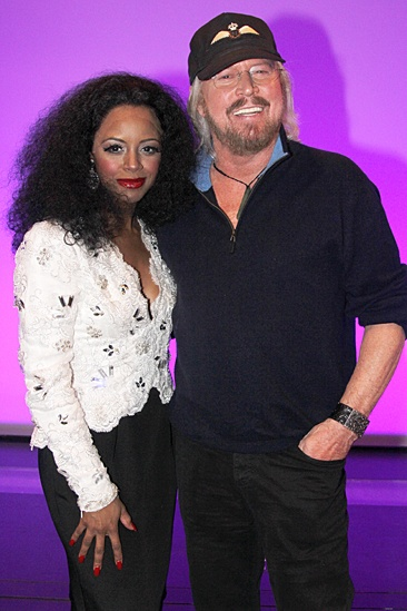 Motown - OP - Krystal Joy Brown - Barry Gibb