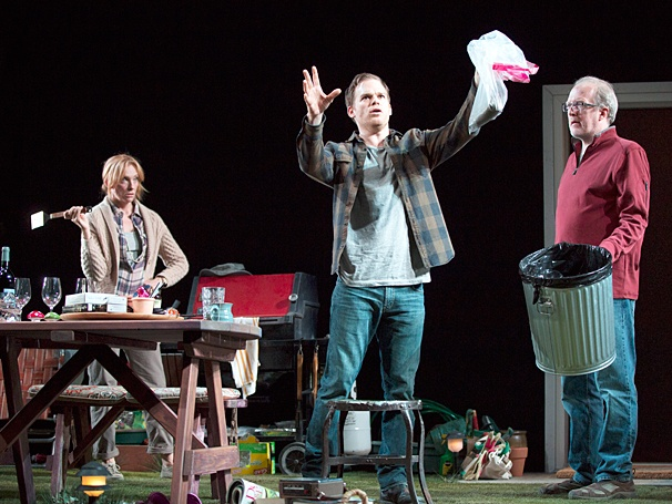 The Realistic Joneses - Show Photos - PS - 4/14 - Michael C Hall - Tracy Letts - Toni Collette
