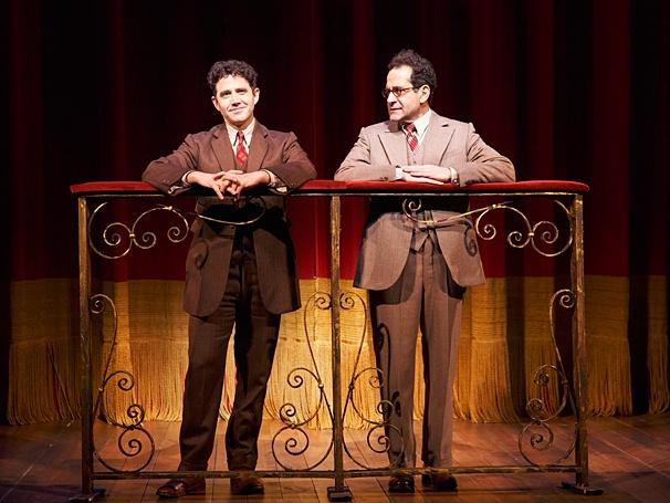 Act One - Show Photos - PS - 4/14 - Santino Fontana - Tony Shalhoub