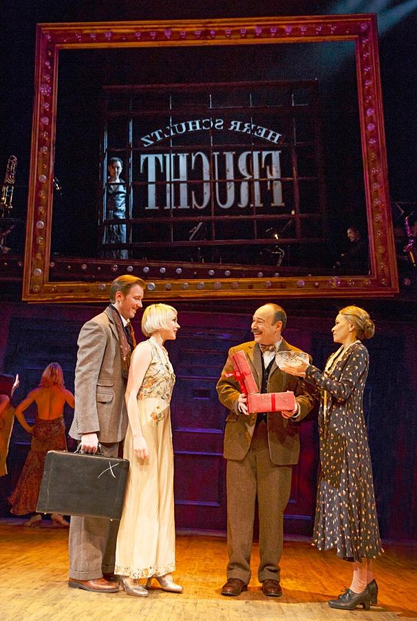 Cabaret - SHow Photos - 11/14 - Bill Heck - Michelle Williams - Danny Burstein - Linda Emond - Alan Cumming
