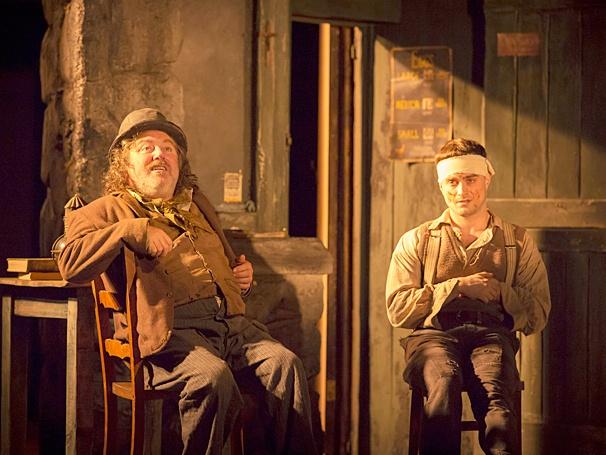 The Cripple of Inishmaan - Show Photos - PS - 4/14 - Pat Shortt - Daniel Radcliffe