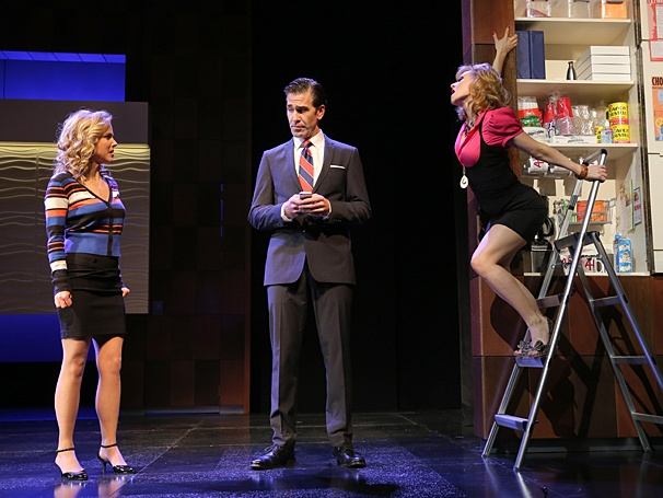 Under My Skin - Show Photos - PS - 4/14 - Kerry Butler - Matt Walton - Megan Sikora