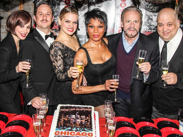 Donna Marie Asbury - Christopher Fitzgerald - Amy Spanger - Stephanie Pope - Barry Weissler - Raymond Bokhour