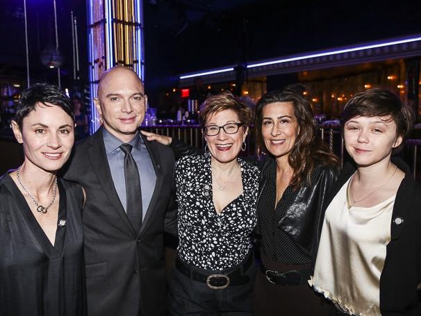 Tony Nominees - Brunch - 4/15 - Beth Malone - Michael Cerveris - Lisa Kron - Jeanine Tesori - Emily Skeggs