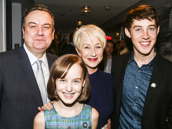 Tony Nominees - Brunch - 4/15 - Richard McCabe - Sydney Lucas - Helen Mirren - Alex Sharp