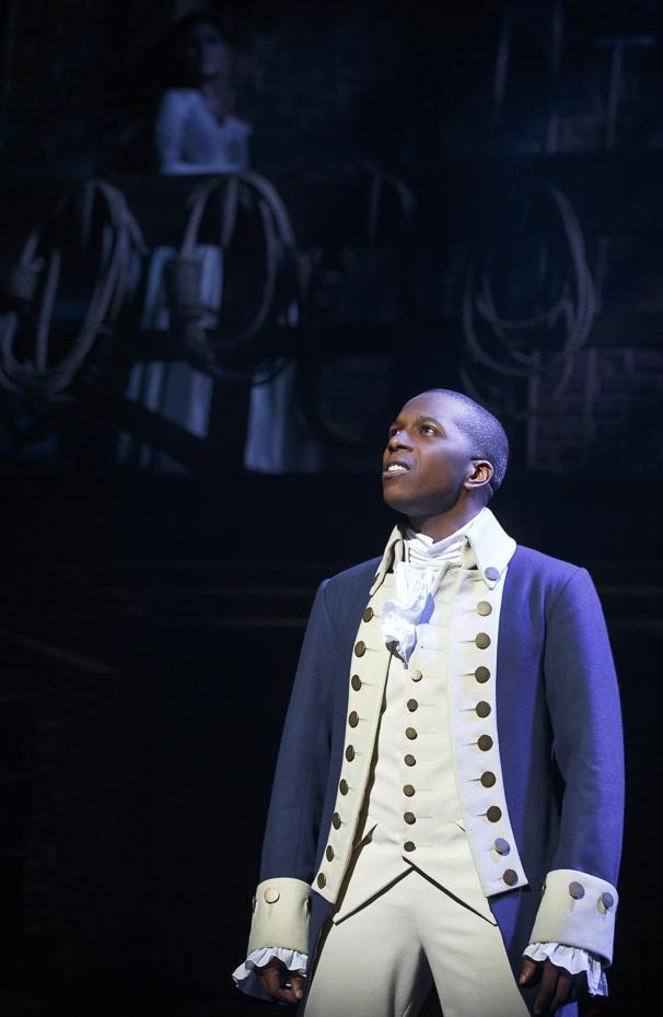 Hamilton - Show Photos - 8/15 -  Leslie Odom Jr.