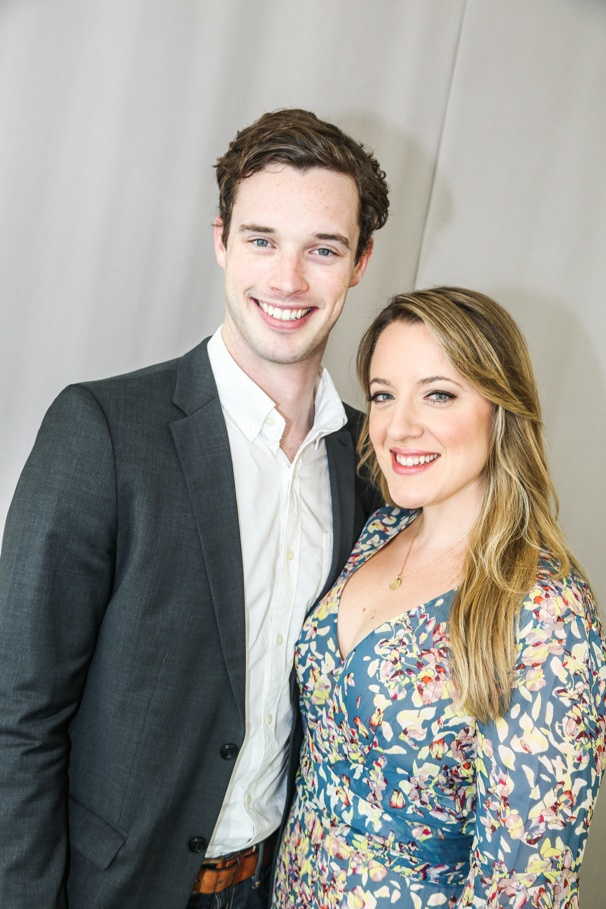 Beautiful: The Carole King Musical - Tour cast - Meet the press - 9/15 - Liam Tobin, Abby Mueller