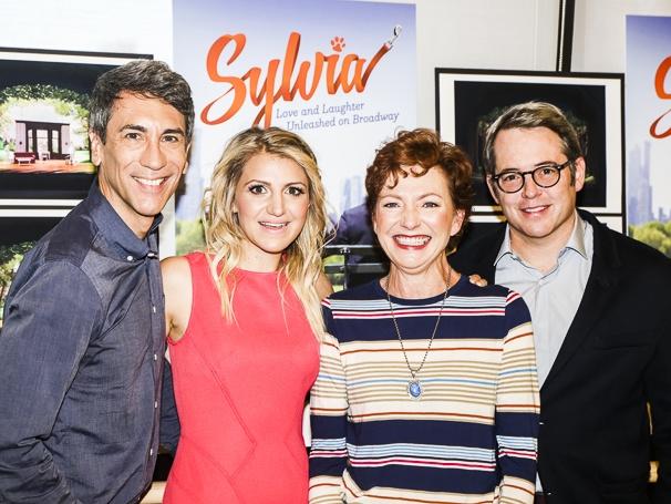 Syllvia - Meet the Press - 9/15 - Robert Sella, Annaleigh Ashford, Julie White and Matthew Broderick