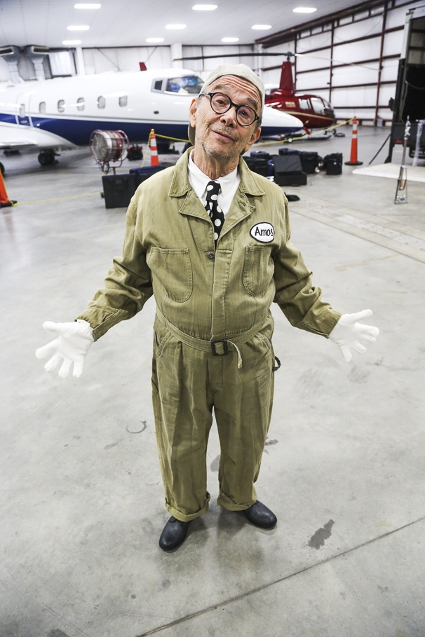 Chicago - Behind the Scenes - Photo Shoot - 12/15 - Joel Grey