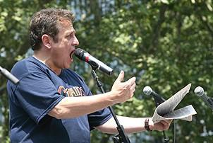 Photo Op - Broadway in Bryant Park 07-26-07 - Michael McCormick