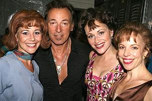 Photo Op - Bruce Springsteen at Jersey Boys - Sara Schmidt - Bruce Springsteen - Erica Piccininni - Jennifer Naimo