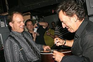 Photo Op - Bruce Springsteen at Jersey Boys - Joe Payne - Bruce Springsteen