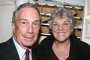 Photo Op - Mayor Bloomberg at Jersey Boys - Michael Bloomberg - Tyne Daly