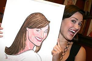 Photo Op - Ashley Brown & Gavin Lee at Sardi's -  Ashley Brown (portrait)