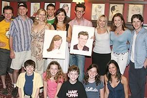 Photo Op - Ashley Brown & Gavin Lee at Sardi's - cast