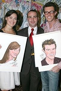 Photo Op - Ashley Brown & Gavin Lee at Sardi's - Ashley Brown - Sean Ricketts - Gavin Lee