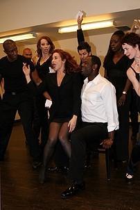 Photo Op - Brian McKnight in Chicago press event - Michelle DeJean - Brian McKnight - cast 2