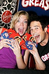 Photo Op - Grease CD signing - Robyn Hurder - Ryan Patrick Binder