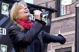 Photo Op - Wicked Day 2007 -  Lisa Brescia (singing)