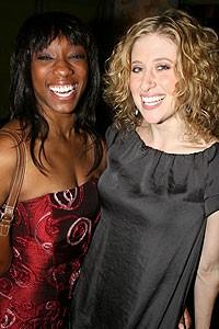 Photo op - Wicked 4th anniversary party - Sonshine Allen - Caissie Levy