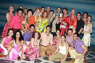 Photo Op - Miley Cyrus at Mamma Mia! - Miley Cyrus - cast