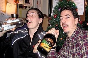 Photo Op - Holidays at Jersey Boys - Michelle Rupert - Jason Brouillard