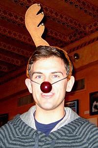Photo Op - Holidays at Jersey Boys - Daniel Reichard