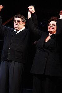 Sopranos Stars at Chicago - cc - Vincent Pastore - Aida Turturro