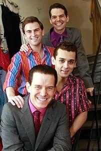 Daniel Reichard's final performance in Jersey Boys - Christian Hoff - Michael Longoria - Daniel Reichard - J. Robert Spencer
