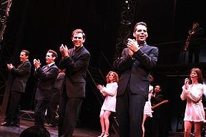 Daniel Reichard's final performance in Jersey Boys - Christian Hoff - Michael Longoria - Daniel Reichard - J. Robert Spencer - 2