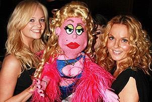Spice Girls @ Ave Q - Emma Bunton - Geri Halliwell - Lucy the Slut