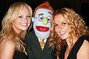 Spice Girls @ Ave Q - Emma Bunton - Geri Halliwell - Rod
