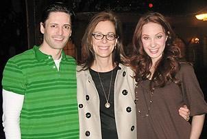Emma Roberts and Jane Kaczmarek at The Little Mermaid - Sean Palmer -  Jane Kaczmarek - Sierra Boggess