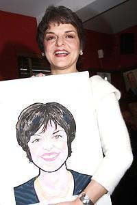 Priscilla Lopez Caricature at Sardi's - Priscilla Lopez (with picture)