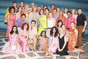 Frida at Mamma Mia - cast