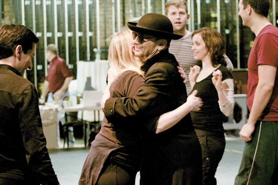 Anything Goes in Rehearsal –  Kathleen Marshall – Joel Grey