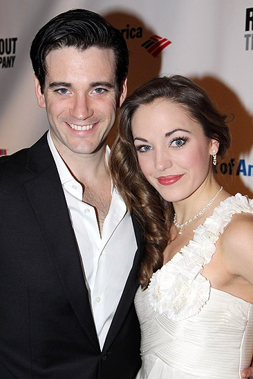 Anything Goes Opening Night – Colin Donnell – Laura Osnes