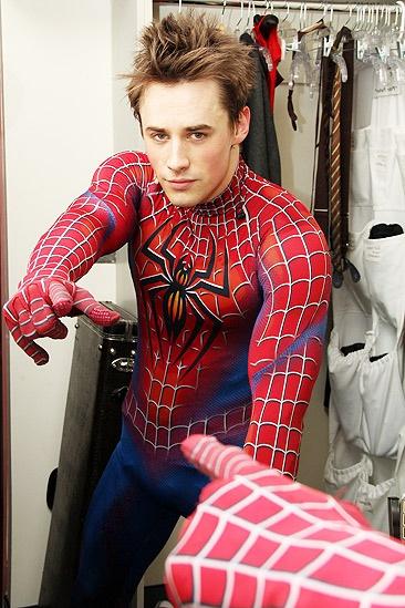 Spiderman final - Reeve Carney 2