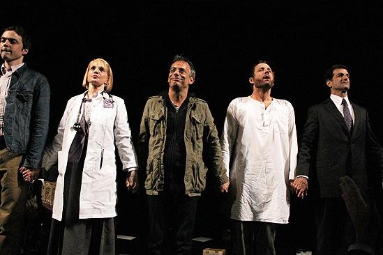 The Normal Heart Opening Night – Ellen Barkin – Joe Mantello – John Benjamin Hickey – Mark Harelik