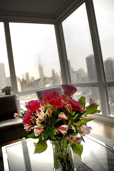 Patina Miller Tony Brunch – flowers