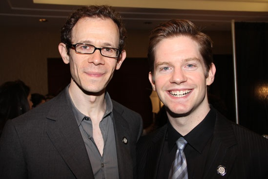 Tony Brunch 2011 – Adam Godley – Andrew Rannells