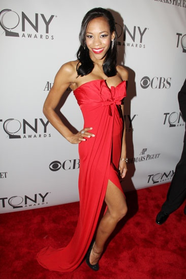 2011 Tony Awards Red Carpet – Nikki M. James