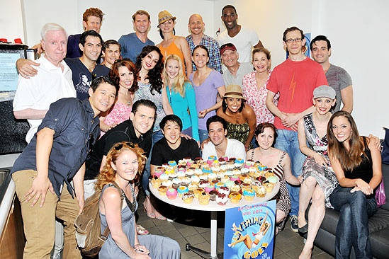 <i>Anything Goes</i> 100th Show – the company of <i>Anything Goes</i>