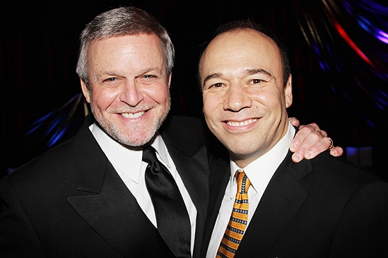 <i>Follies</i> opening night – Ron Raines – Danny Burstein