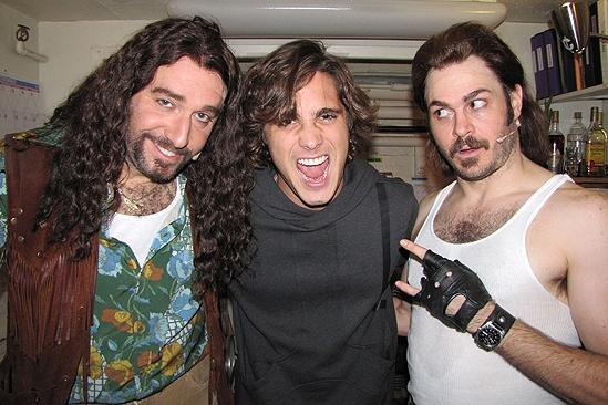 Diego Boneta at <i>Rock of Ages</i> - Adam Dannheiser – Diego Boneta – Mitch Jarvis