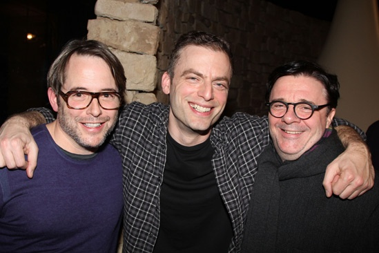 Other Desert Cities – Matthew Broderick, Justin Kirk and Nathan Lane