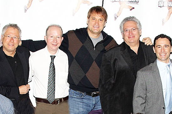 Newsies -Alan Menken, Jack Feldman, Jeff Calhoun, Harvey Fierstein and Christopher Gattelli
