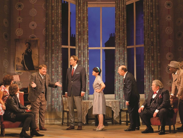 Show Photos - One Man, Two Guvnors - Suzie Toase - Claire Lams - Daniel Rigby - James Corden - Oliver Chris - Jemima Rooper - Fred Ridgeway - Martyn Ellis - Trevor Laird